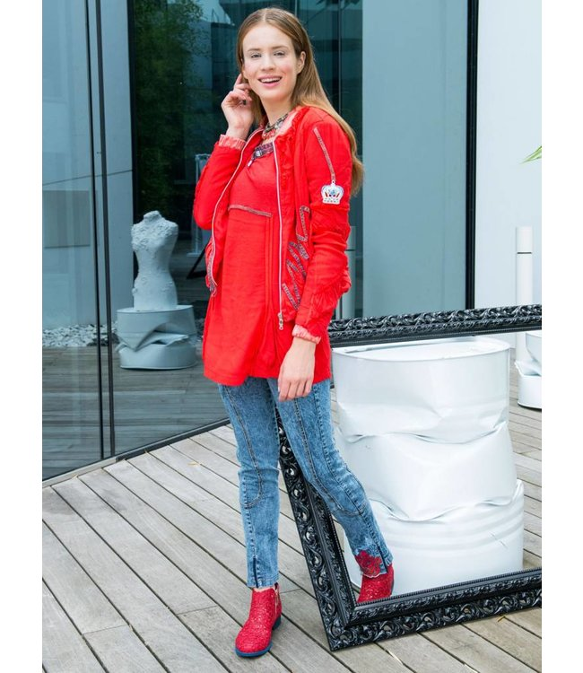 Elisa Cavaletti Jeans Denim-Blu