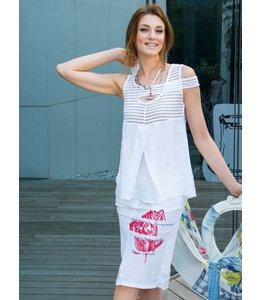 Elisa Cavaletti Skirt Bianco