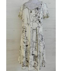Elisa Cavaletti Knielanges Kleid St. Macro