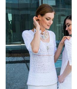 Elisa Cavaletti Pullover Bianco