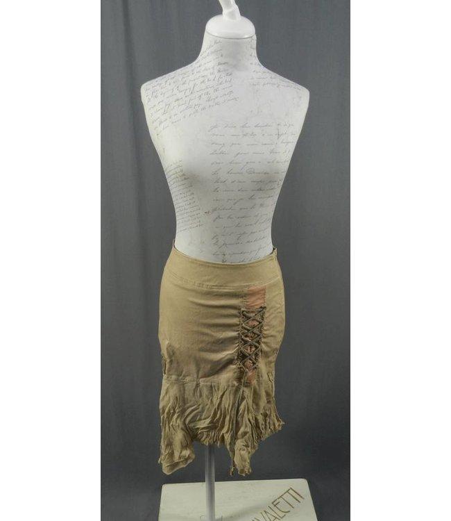 Elisa Cavaletti Skirt dusky-pink-brown