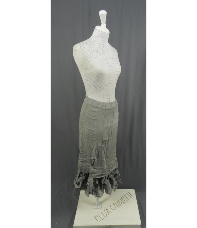 Elisa Cavaletti Langer Rock grau verwaschen