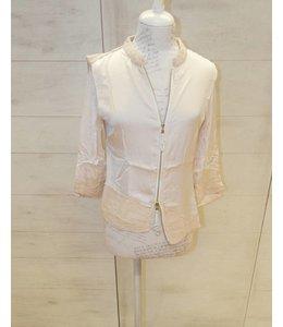 Elisa Cavaletti Short jacket rose