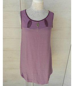 Elisa Cavaletti Kurzes Kleid violett