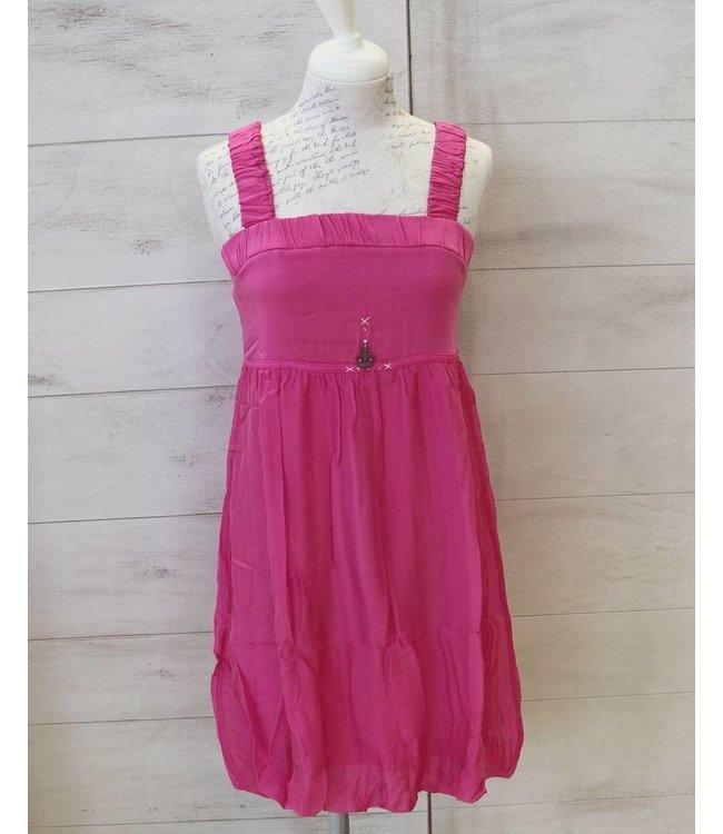 Elisa Cavaletti Strappy dress pink