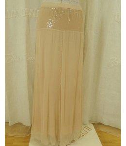 Elisa Cavaletti Long skirt dusky pink