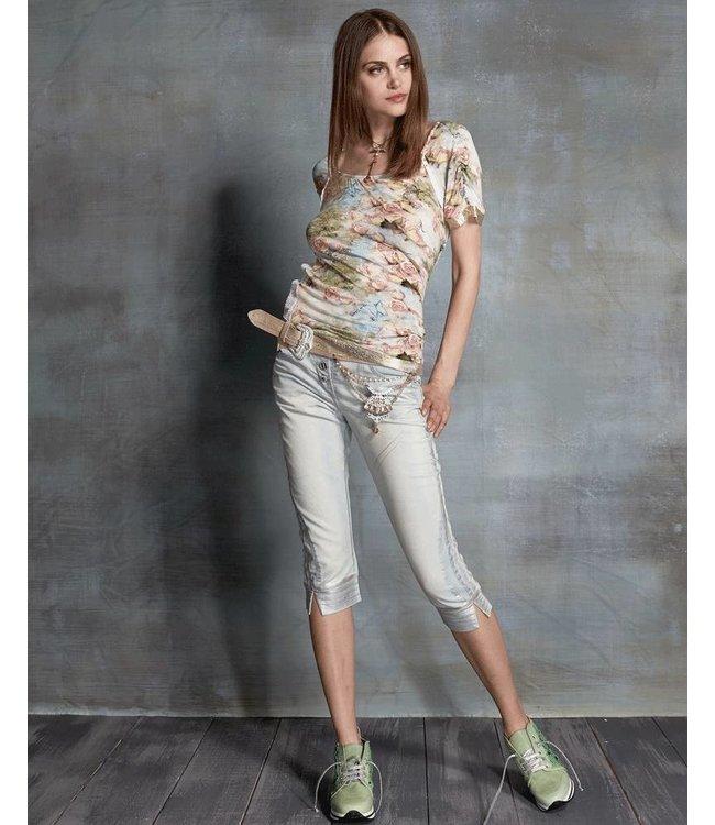 Elisa Cavaletti T-Shirt Stampa Rose