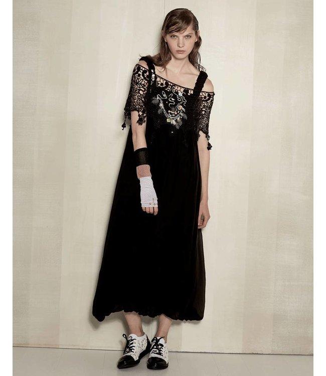 Elisa Cavaletti Trägerkleid schwarz