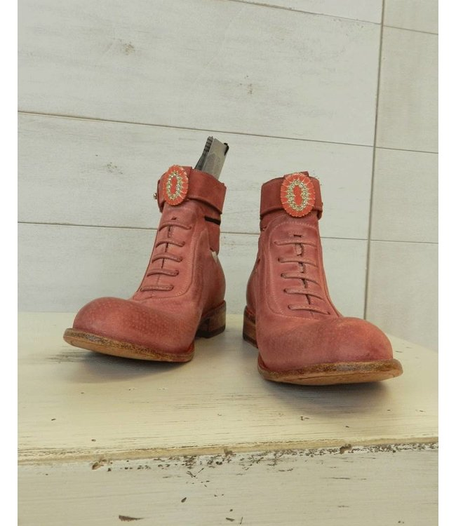 Elisa Cavaletti Leather shoes red