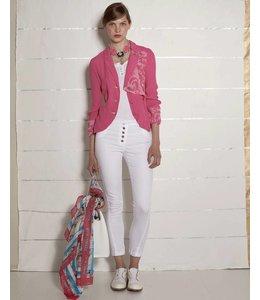 Elisa Cavaletti Pantalon blanc