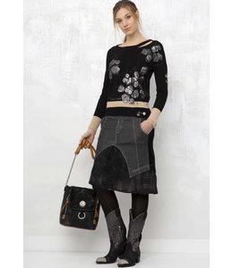 Elisa Cavaletti Knitted sweater Nero Liberta