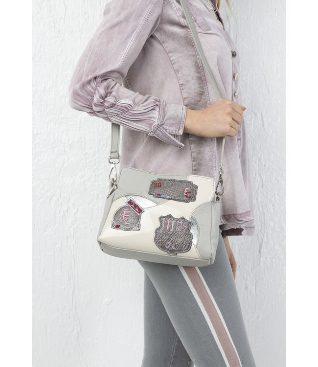Elisa Cavaletti Leather bag Quiete Incontro