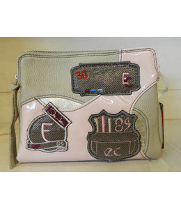 Elisa Cavaletti Leather bag Quiet Riflesso