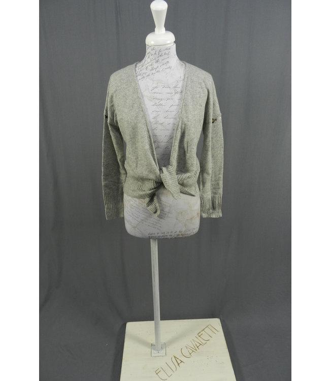 Elisa Cavaletti Knit-Jacket light grey