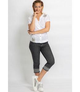 Elisa Cavaletti Cropped blouse Bianco