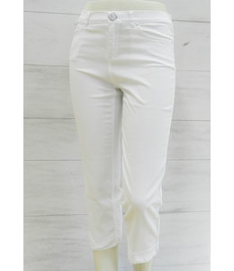 Elisa Cavaletti 3/4 basic trousers Bianco