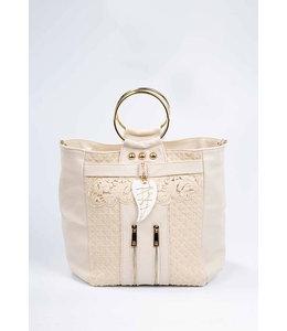 Elisa Cavaletti Leather bag Oro