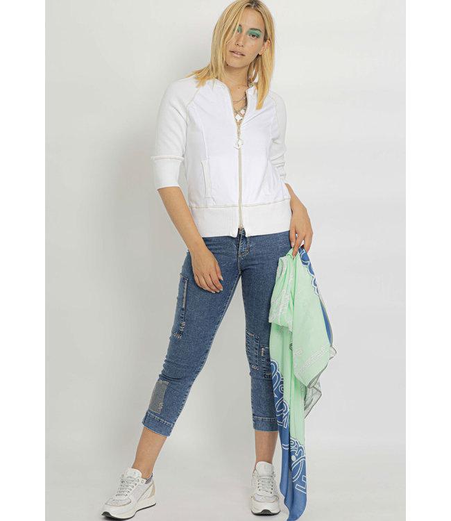 Elisa Cavaletti 7/8 jeans Denim Blue