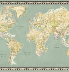 Wereldkaart, Multi Meridian
