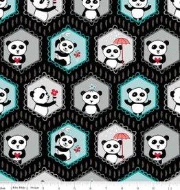 Panda Love, black