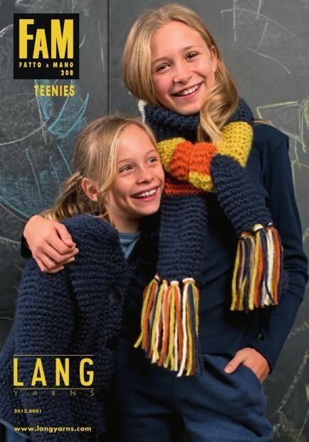 Lang Yarns Lang Yarns breiboek 208 Teenies