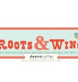 Riley Blake Roots&Wings stripe