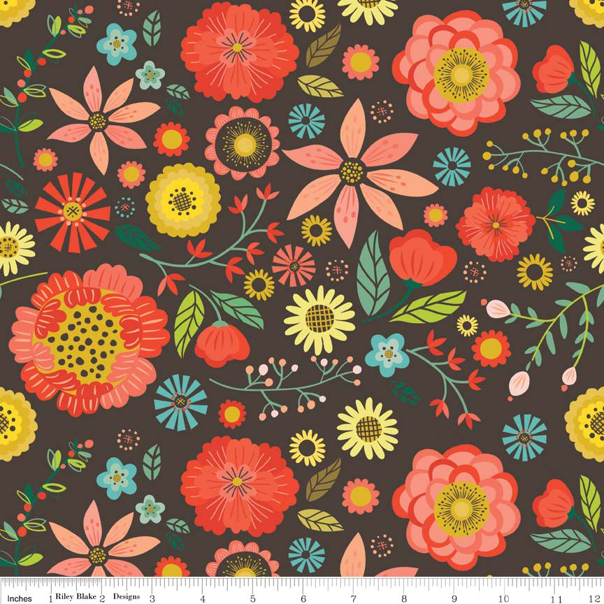 Riley Blake Roots&Wings floral