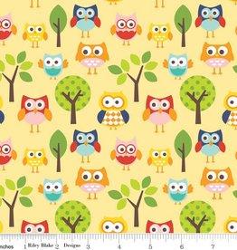 Riley Blake Lazy days Owls