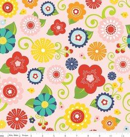 Riley Blake Lazy days flowers