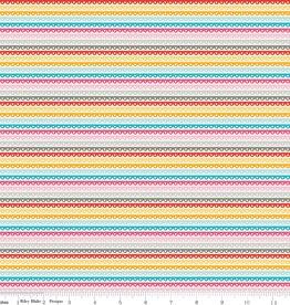 Riley Blake Girl Crazy Stripe