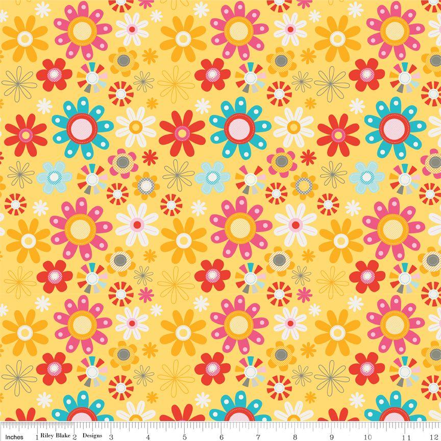 Riley Blake Girl Crazy Floral