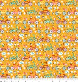 Riley Blake Girl Crazy Bikes