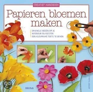 Papieren bloemen maken