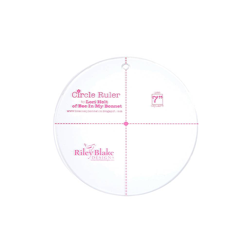 Lori Holt Lori Holt: Circle ruler 7inch