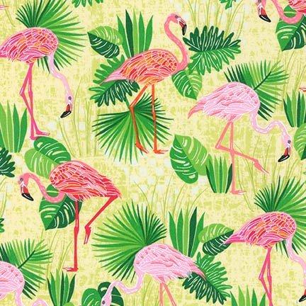 Robert Kaufman Robert Kaufman Flamingo Paradis