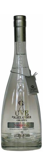 Grappa Nebbiolo - Barolo - Acqva di Vita Alexander