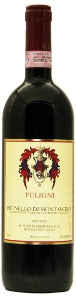 3 flessen in houten kist Brunello di Montalcino DOCG - 2013 - Fuligni