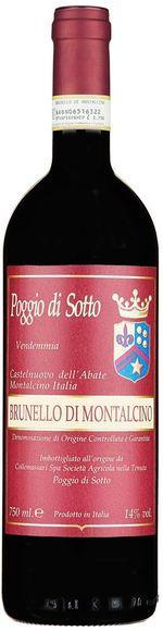 Brunello di Montalcino 2013 DOCG - Poggio di Sotto