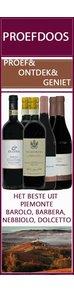 Proefdoos Piemonte - Ontdek de mooiste rode wijnen uit Piemonte