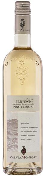 Trentino Pinot Grigio DOC - 2017 - Casate Montfort