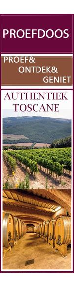 Authentiek Toscane - proef- en ontdek wijndoos - 6x rood