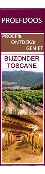 Bijzonder Toscane - proef- en ontdek wijndoos - 6x rood