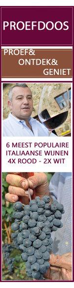 Proef&Ontdek wijndoos - ontdek de mooiste Italiaanse wijnen