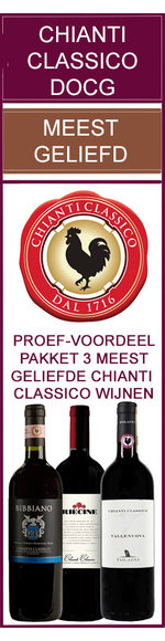 Meest Geliefde, hoog gewaardeerde Chianti Classico DOCG Wijnen - 3 flessen
