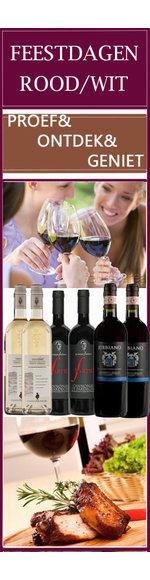 CULINEA - Feestdagen Wijnselectie - Italië - Rood /Wit
