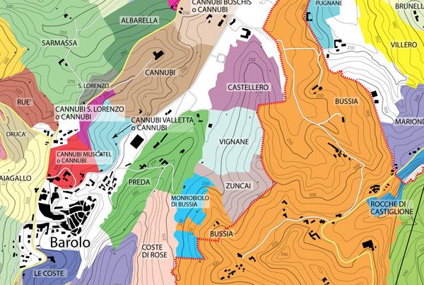 cannubi barolo kaart
