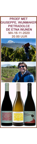 Webinar Ontdek de Wijnen van de Etna incl. 3 Etna Wijnen - Maandag 16 november 2020 - 20.00 uur