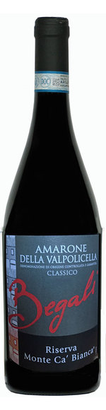 Amarone Riserva - DOCG - Monte Ca' Bianca DOC - 2015 - Begali