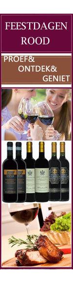 Feestdagen beste wijnselectie - Italië - Rood