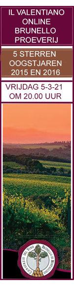 Online WijnProeverij Met Brunello di Montalcino Producent - Vrijdag 5-03-2021 - 20.00 uur